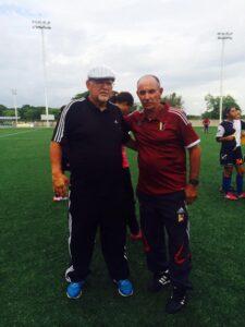 Lino Alonso y Manolo Correa